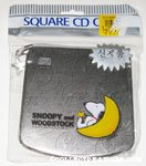 Snoopy & Woodstock Sleeping on Moon CD Case