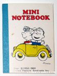 Linus and Sally in Yellow Car Notebook