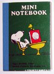 Snoopy sleeping at Desk with Woodstock Notebook