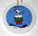 Snoopy on Flying Doghouse