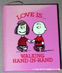 Charlie Brown & Peppermint Patty 'Love is... walking hand in hand' Book Ornament