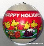 Satin Ball Determined Productions Peanuts Ornaments