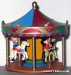 Peanuts Gang Carousel Ornament