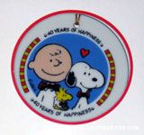 Peanuts 40th Anniversary Logo