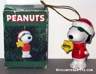 Joe Cool Santa with Knott's Star Ceramic Ornament