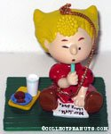 Sally writing letter to Santa Ornament
