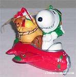 Peanuts Figural Ornaments by Kurt Adler