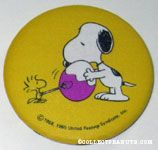 Snoopy and Woodstock Painting Egg