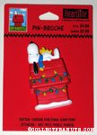 Snoopy on Doghouse Pin