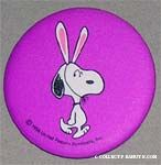 Snoopy with Bunny Ears
