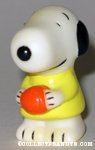 Snoopy holding basketball Figure