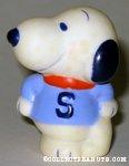 Snoopy wearing S shirt Figure