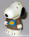 Snoopy holding tennis racket Figure