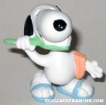 Snoopy Brushing Teeth