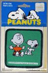 Snoopy & Charlie Brown with Outstretched Arms Patch