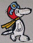 Snoopy Flying Ace Patch