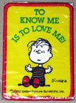 Linus 'To Know me is to love me' Patch