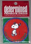 Snoopy 'Jogging is my thing' Patch