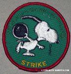 Snoopy bowling 'Strike' Patch