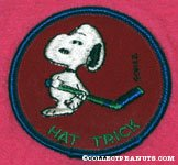 Snoopy golfing 'You're Away' Patch