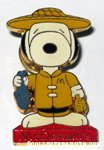 Snoopy Hong Kong McDonald's Pin
