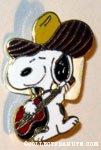 Snoopy – Cowboy Aviva Pins