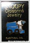 Snoopy driving Zamboni Pin