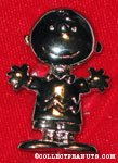 Charlie Brown standing pin