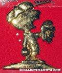 Baseball Charlie Brown pin