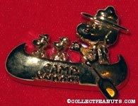 Beaglescout Snoopy & Woodstock Camp Snoopy Logo pin