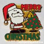 Santa Snoopy 'Merry Christmas' Pin