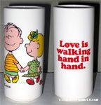 Love is walking hand in hand Vase