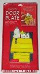 Snoopy & Woodstock Door Plate