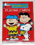 Snoopy, Charlie Brown and Lucy Playing Cards