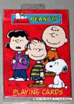 Snoopy, Charlie Brown, Linus and Lucy Playing Cards