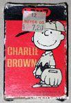 Charlie Brown baseball player Playing Cards