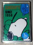 Snoopy catching fly ball Playing Cards