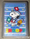 Snoopy & Woodstock sailors with flags Playing Cards