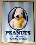 Plush Snoopy & Woodstock Playing Cards