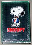 Snoopy wearing plaid coat Mini Playing Cards