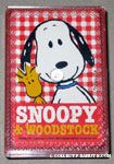 Snoopy & Woodstock leaning Mini Playing Cards