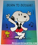 Disco Snoopy & Woodstock 'Born to Boogie' Poster