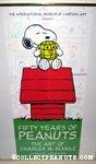 Peanuts 50th Anniversary Cartoon Art Museum Poster