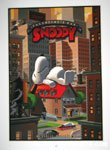 The Snoopy Just Married Print by Laurent Durieux