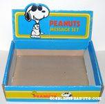 Butterfly Originals Peanuts Message Set Display Box