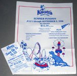Knott's Berry Farm Summer Fun Days Coupon