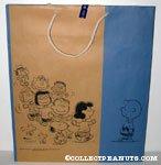 Peanuts Gang Dancing Sogo Shopping Bag