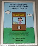 Lucy Lemonade Stand Metlife Magazine Ad