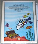 Snoopy Scuba Diver Metlife Magazine Ad