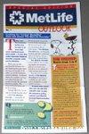 Snoopy & Woodstock in his nest Metlife Outlook Newletter